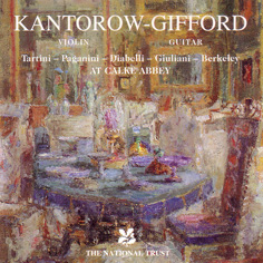 Kantorow and Gifford at Calke Abbey album cover
