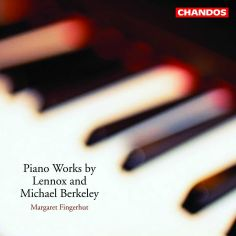 Piano Works by Lennox and Michael Berkeley album cover