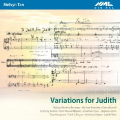 Variations for Judith album cover